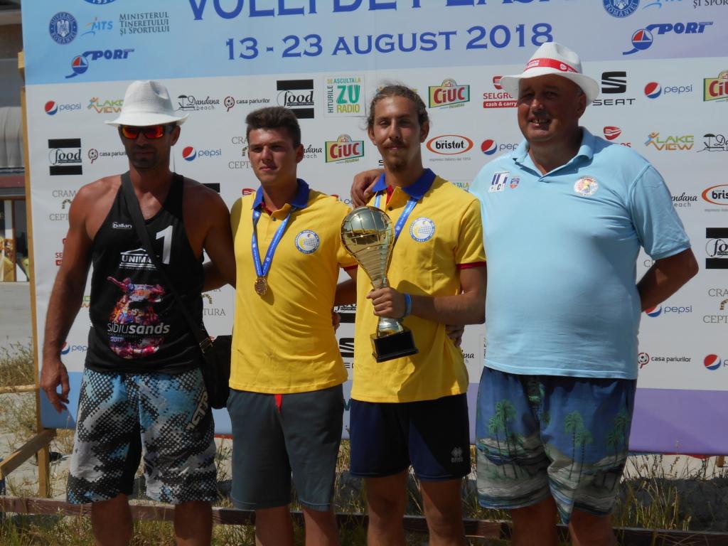 Pro Volei Arad campioni volei pe plaja